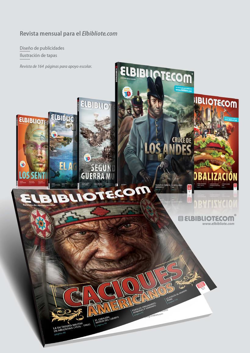 Tapa revista- Idea + Ilustración + diseño 0