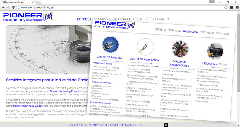 Pioneer Machinery europe 2