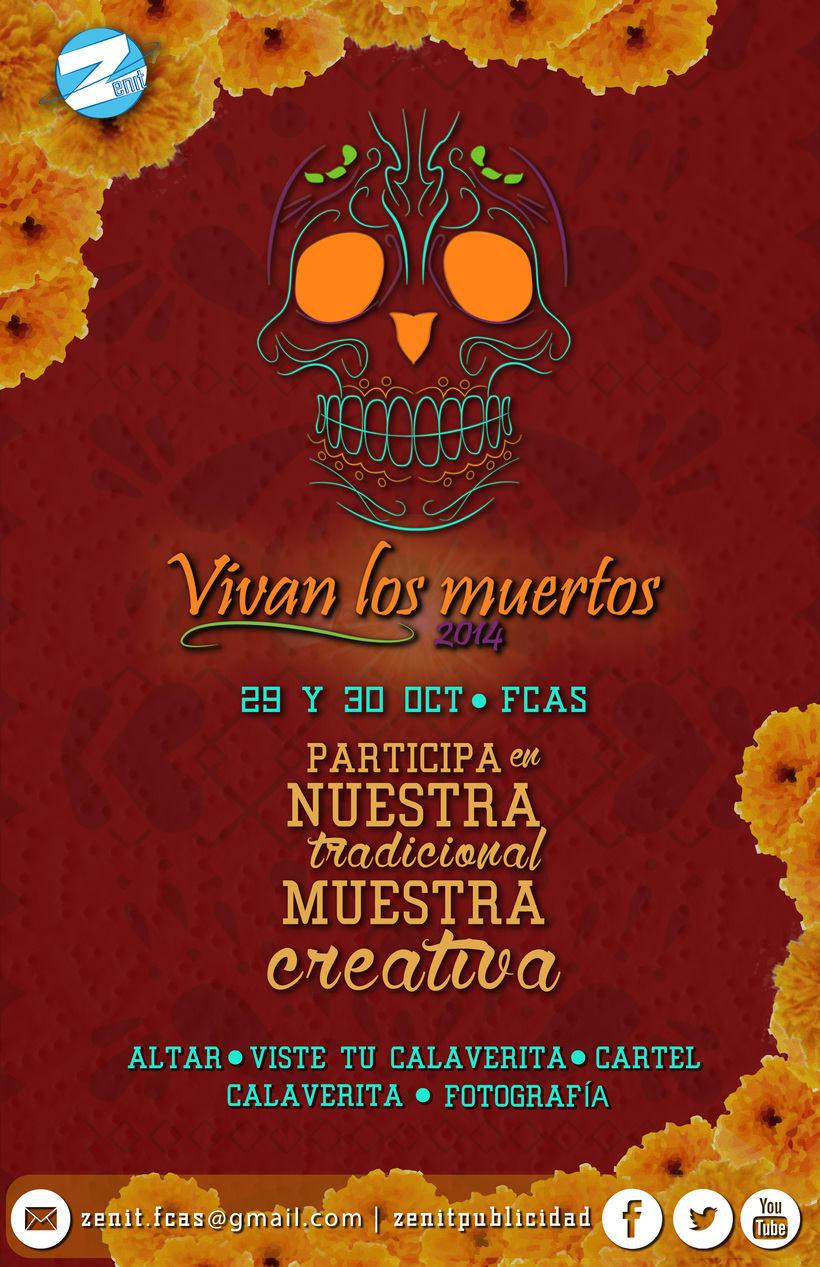 Vivan los Muertos 2014 - Zenit Publicidad 3