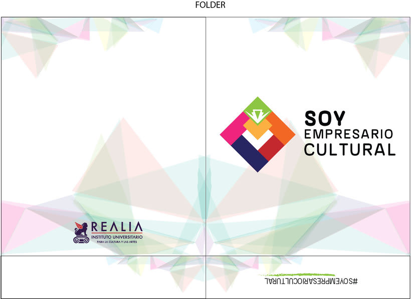 Campaña Soy Empresario Cultural y Esto es Real - REALIA  2