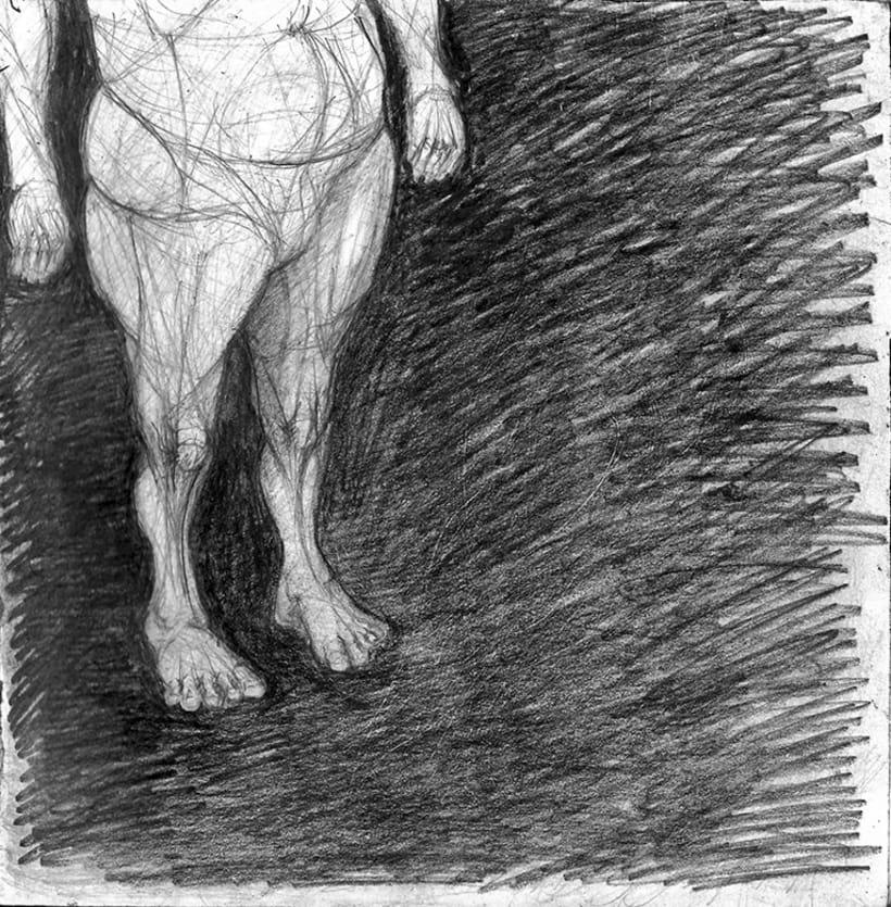 Dibujo - Título: Ocultar -1