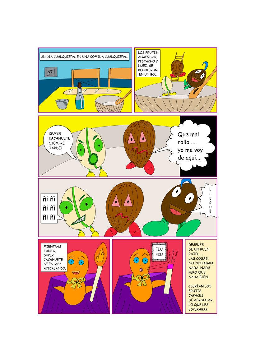 Mi Proyecto del curso: Creación de cómics con Manga Studio (Clip Studio Paint) 0