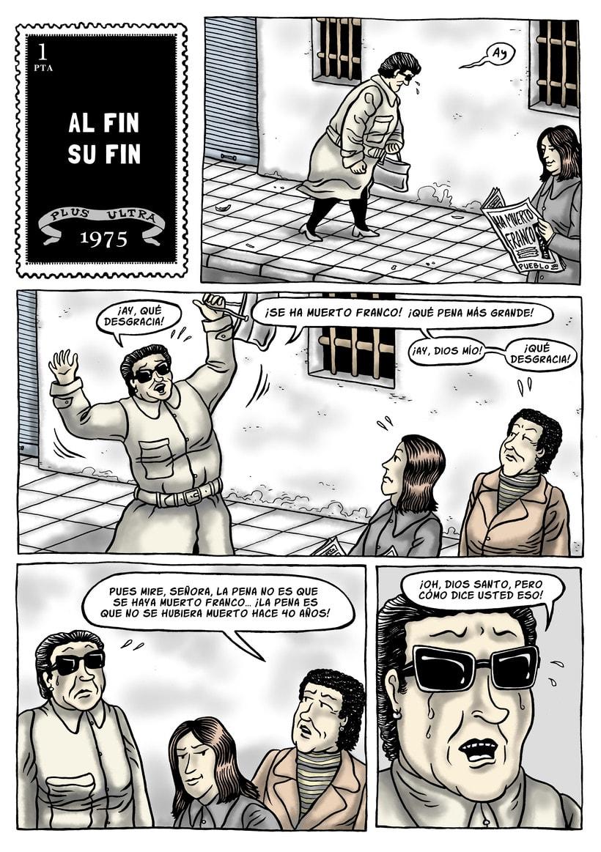 Mi Proyecto del curso: El cómic es otra historia. AL FIN SU FIN 0