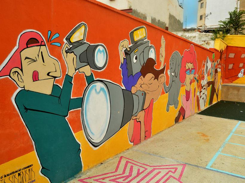 Mural in Alcoy (Spain) 0