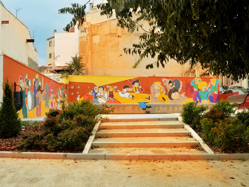 Mural in Alcoy (Spain) 2