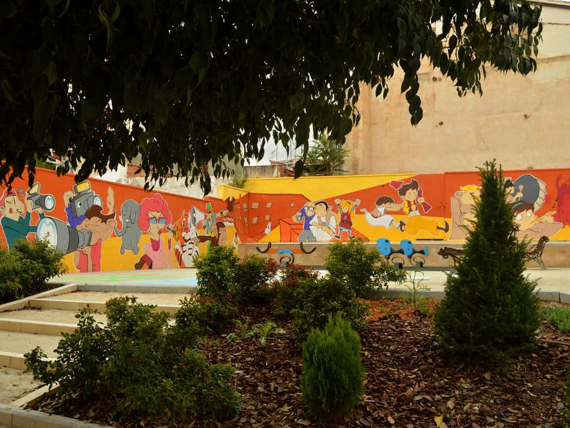 Mural in Alcoy (Spain) 3