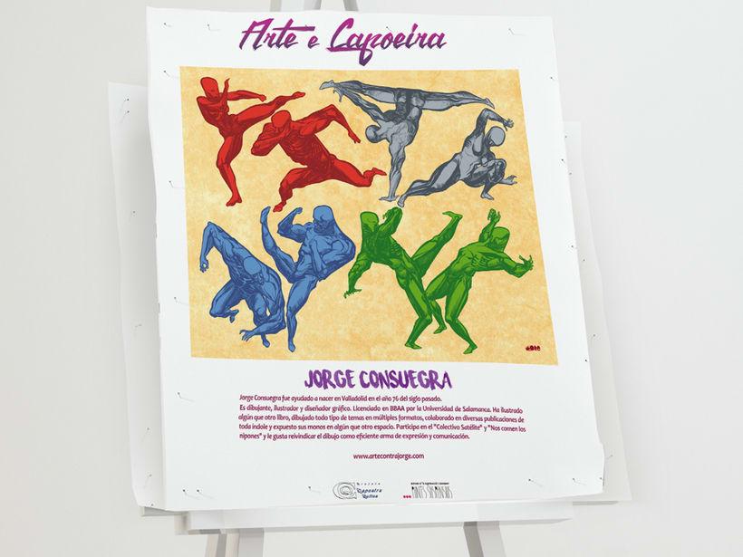 """Branding para evento: """"IV Encuentro Nacional de Arte y Capoeira"""" 1"""