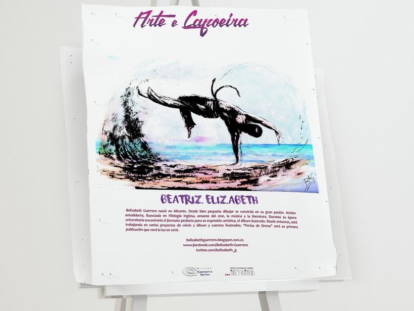 """Branding para evento: """"IV Encuentro Nacional de Arte y Capoeira"""" 3"""