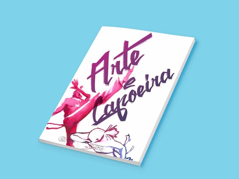 """Branding para evento: """"IV Encuentro Nacional de Arte y Capoeira"""" 4"""