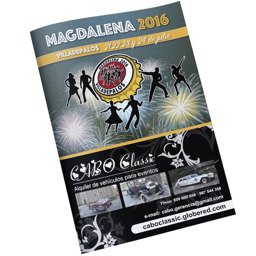 Revista Fiestas Villadepalos -1