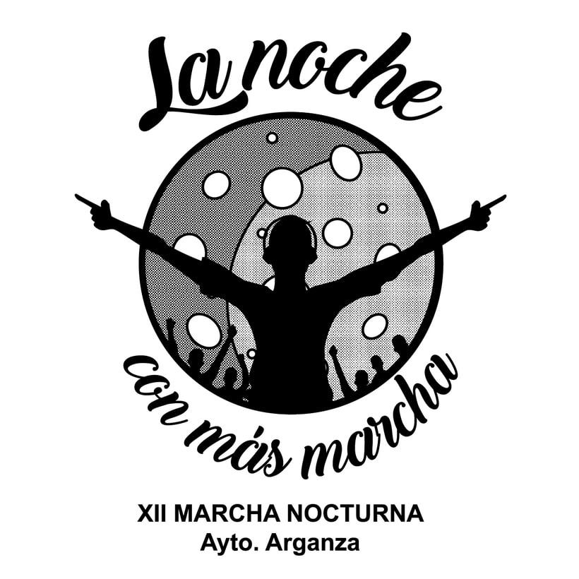 Camisetas Marcha Nocturna  -1