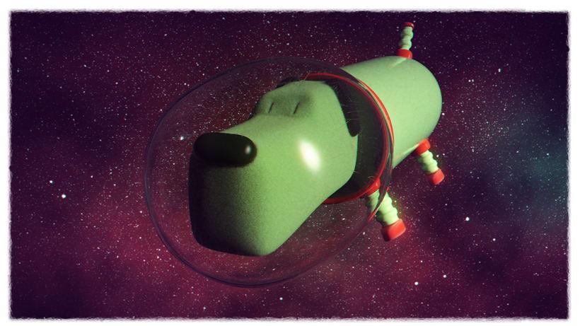 Más raro que un perro verde. -1