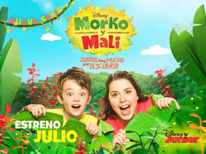 """Maquillaje en programa de tv """"MORKO Y MALI"""" para Disney Junior -1"""