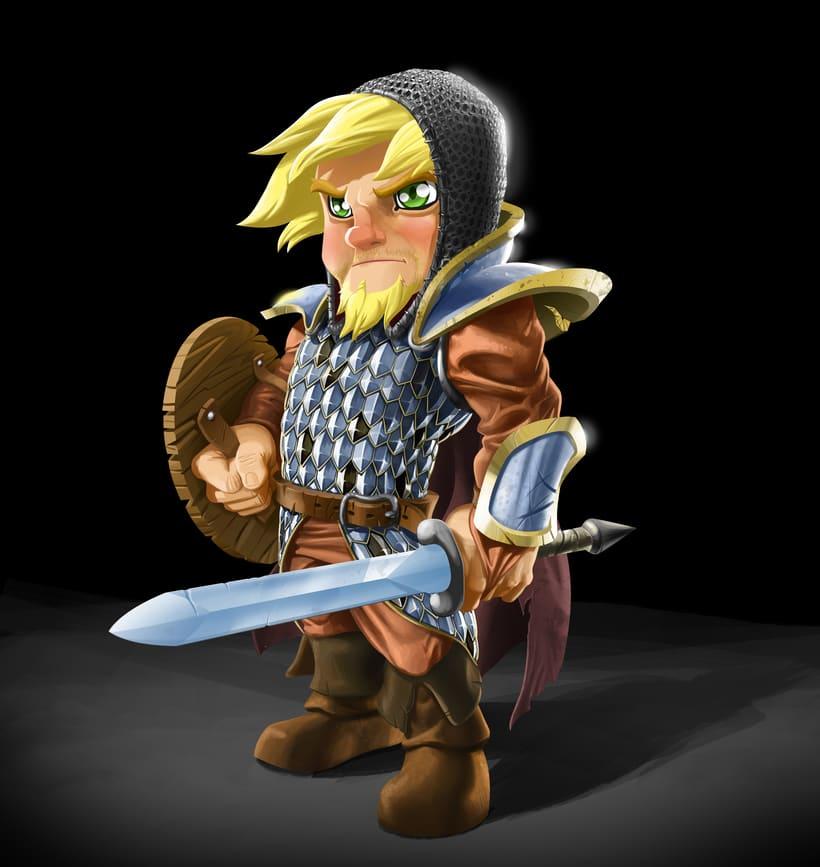 Medieval Hero 1