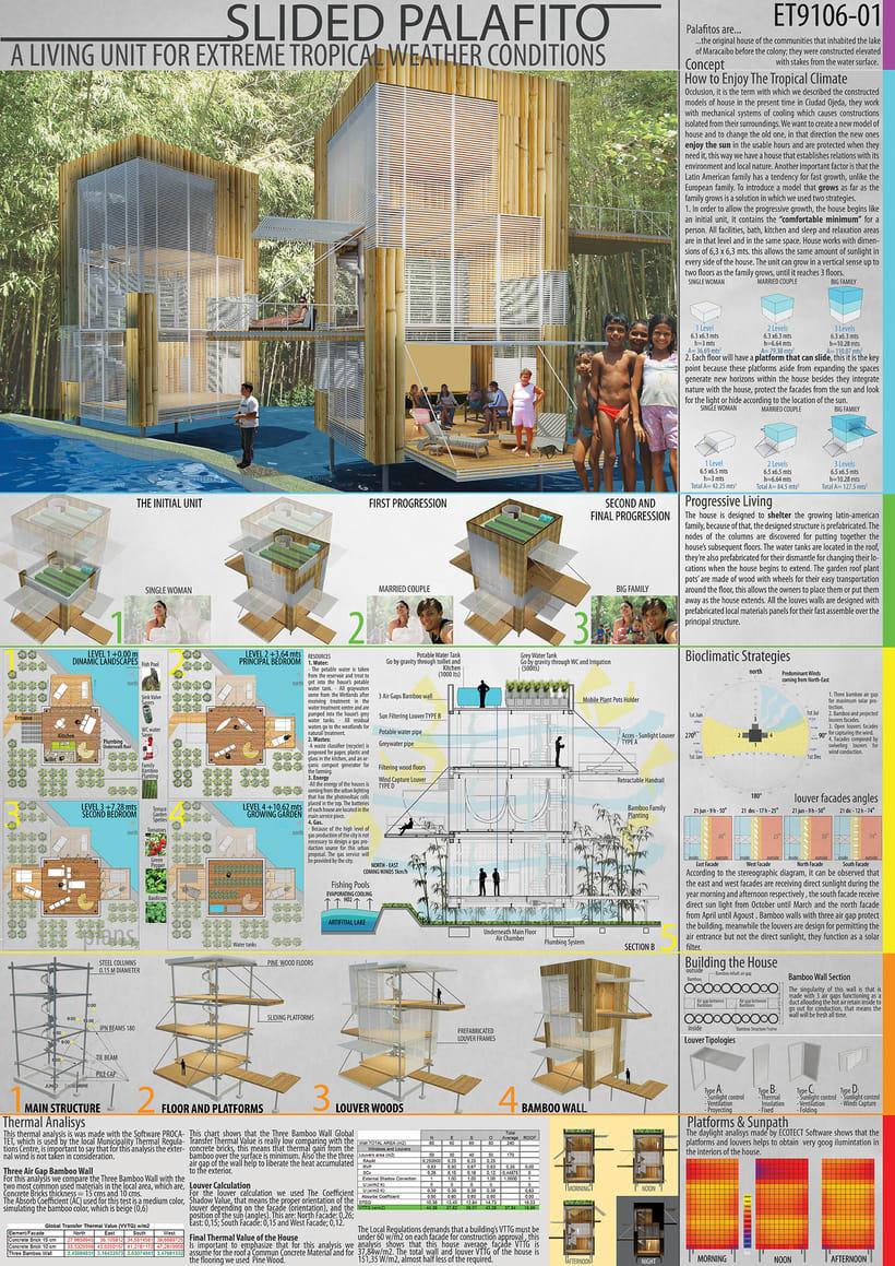 Proyecto de Grado para obtener el Título de Arquitecto (Proyecto ganador 1er premio Londres) 0