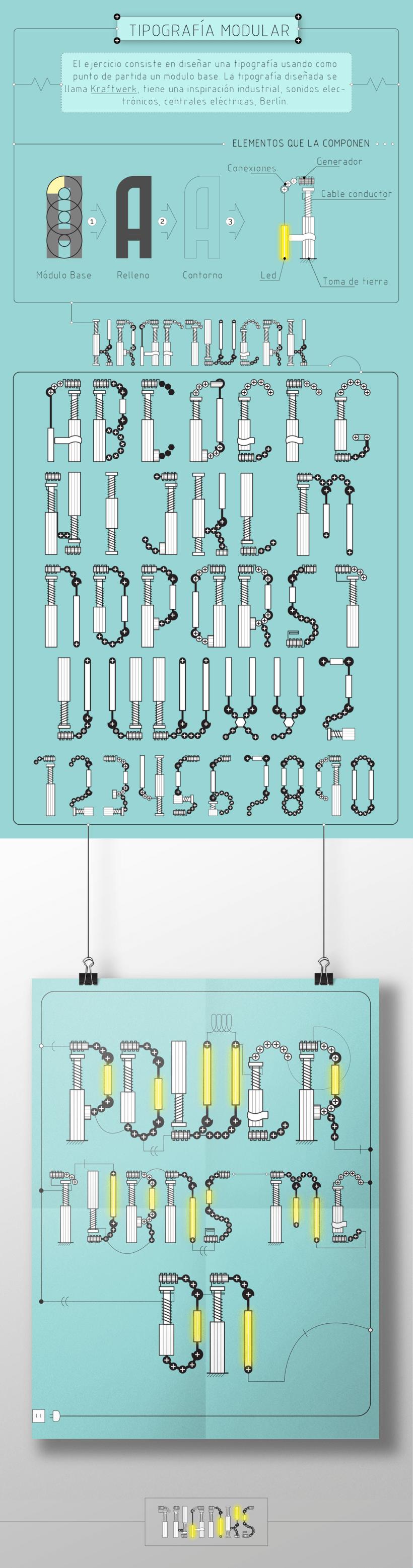 Diseño de Tipografía Modular 0