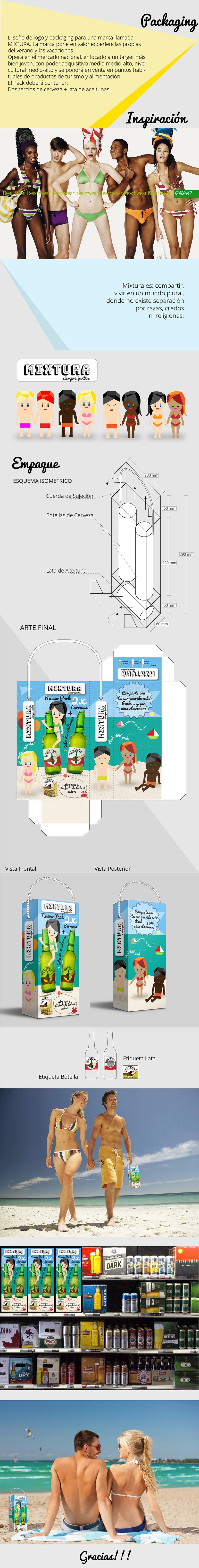 Packaging para la empresa Mixtura -1
