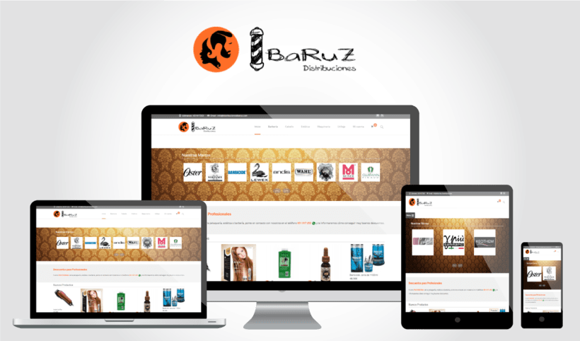 Distribuciones Ibaruz (WordPress E.-Commerce) 0