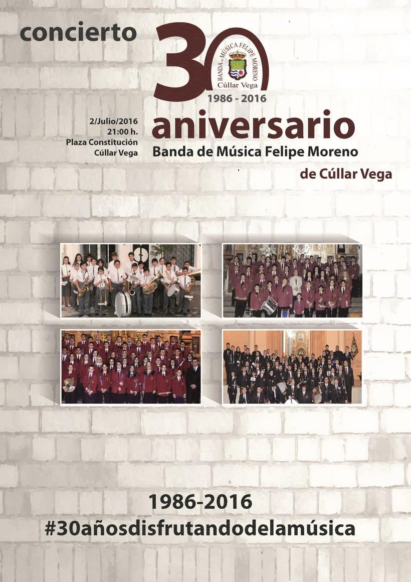 Cartel concierto XXX aniversario BMFM -1