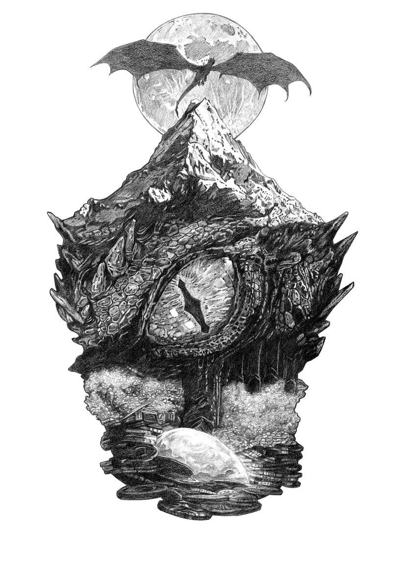 SMAUG EL TERRIBLE. Un pequeño homenaje al último gran dragón 0