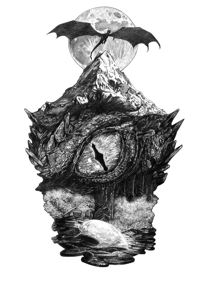 SMAUG EL TERRIBLE. Un pequeño homenaje al último gran dragón 1
