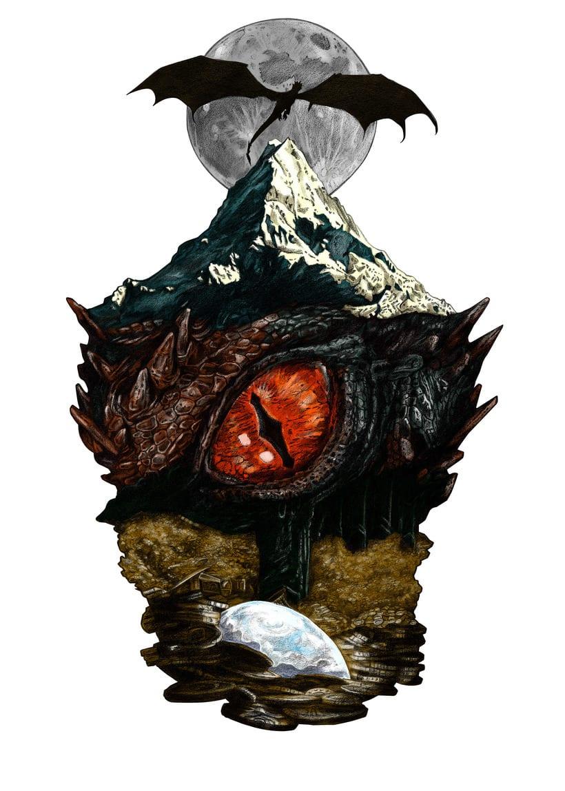 SMAUG EL TERRIBLE. Un pequeño homenaje al último gran dragón 2