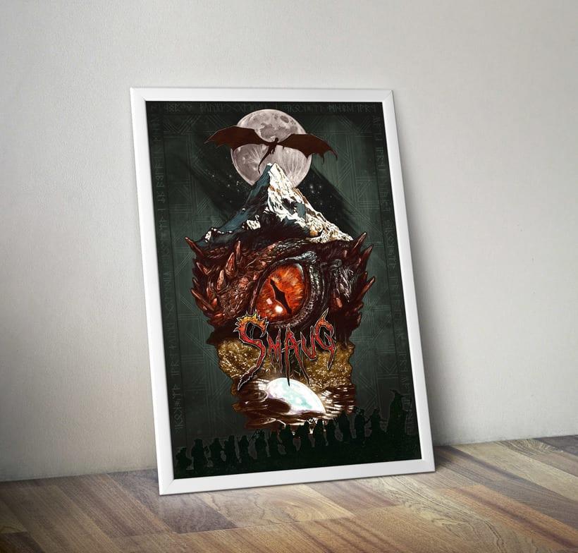 SMAUG EL TERRIBLE. Un pequeño homenaje al último gran dragón 11