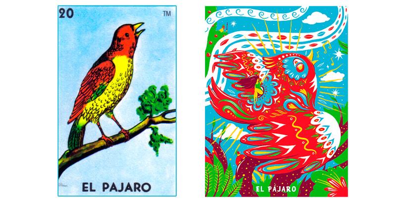 El Pájaro - Lotería Capiusera Collective 0