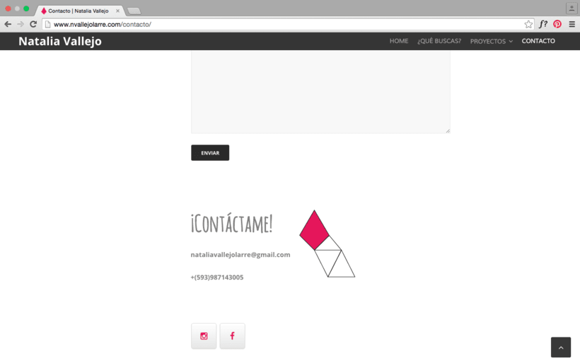 Mi portafolio Web como diseñadora gráfica 3
