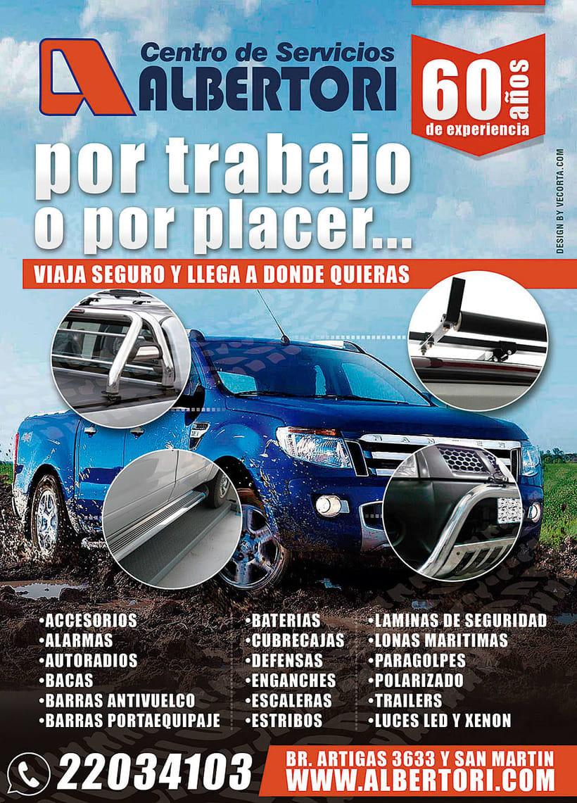 Campaña Publicitaria / Albertori Viaje Seguro  0