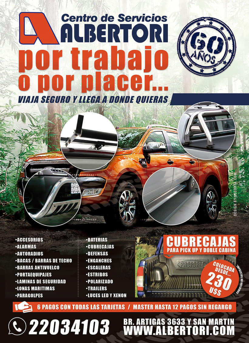 Campaña Publicitaria / Albertori Viaje Seguro  1