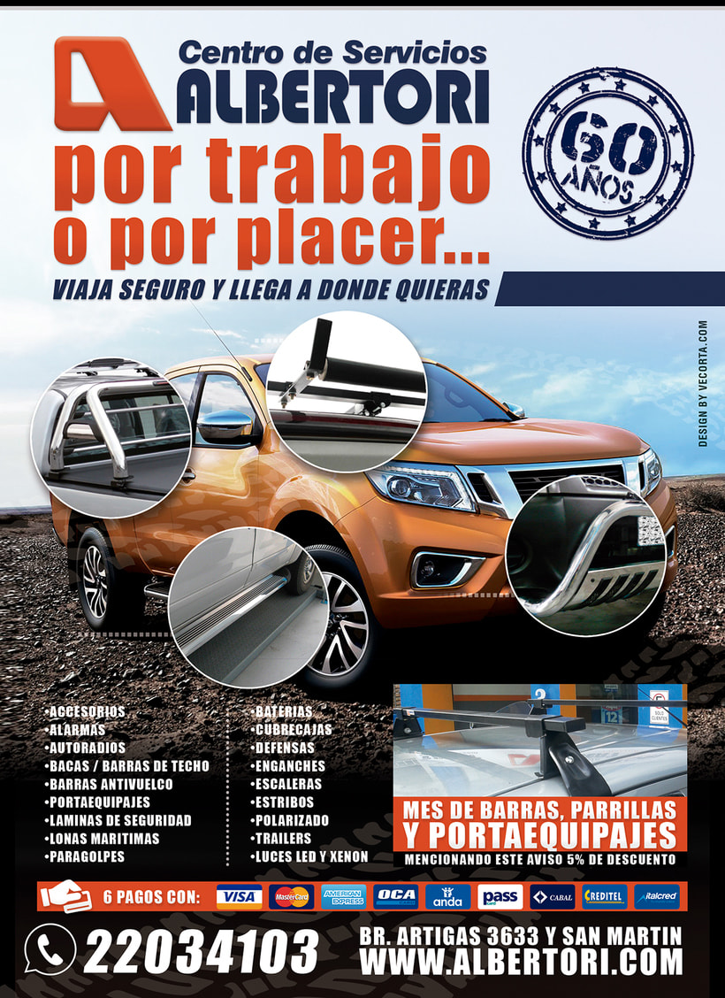 Campaña Publicitaria / Albertori Viaje Seguro  7