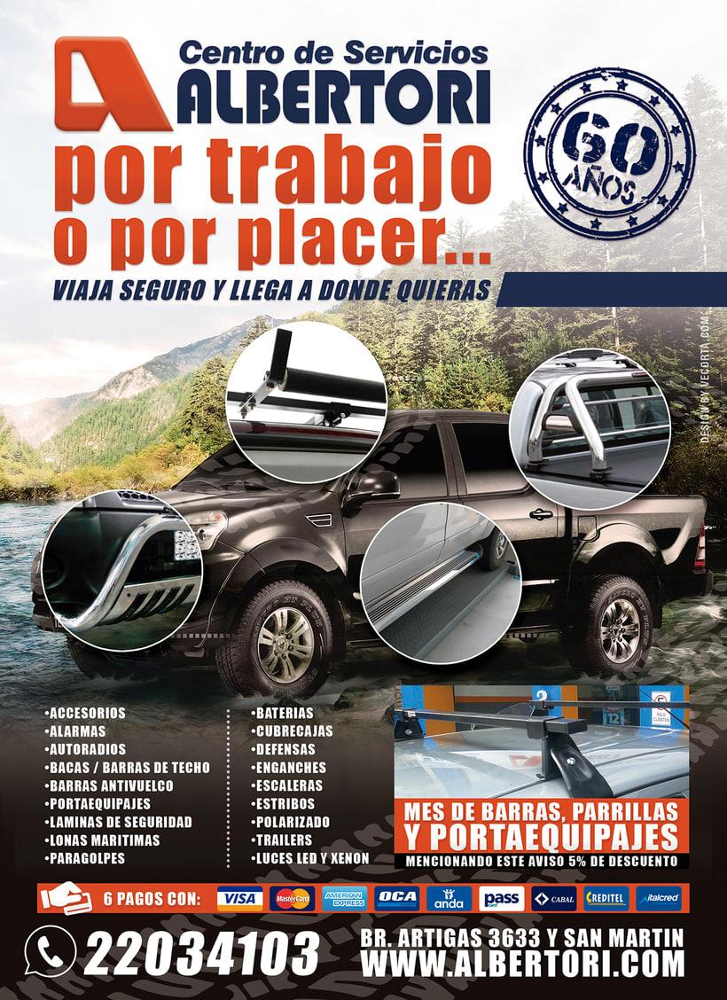 Campaña Publicitaria / Albertori Viaje Seguro  8