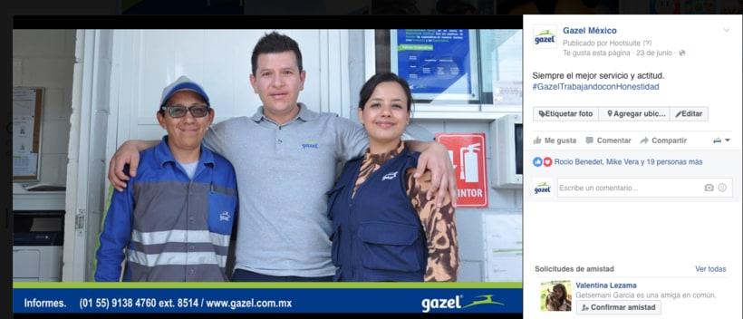Proyecto: Empresa Gazel  5
