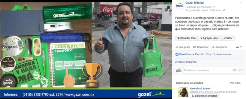 Proyecto: Empresa Gazel  6
