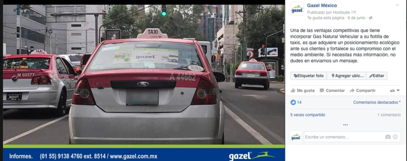 Proyecto: Empresa Gazel  8