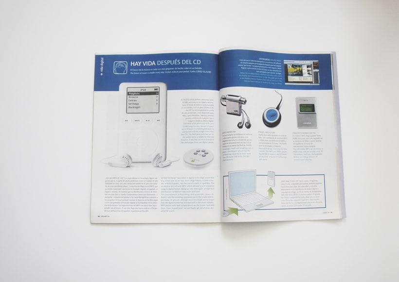 Ilustraciones y maquetación para revista EUROPA -1