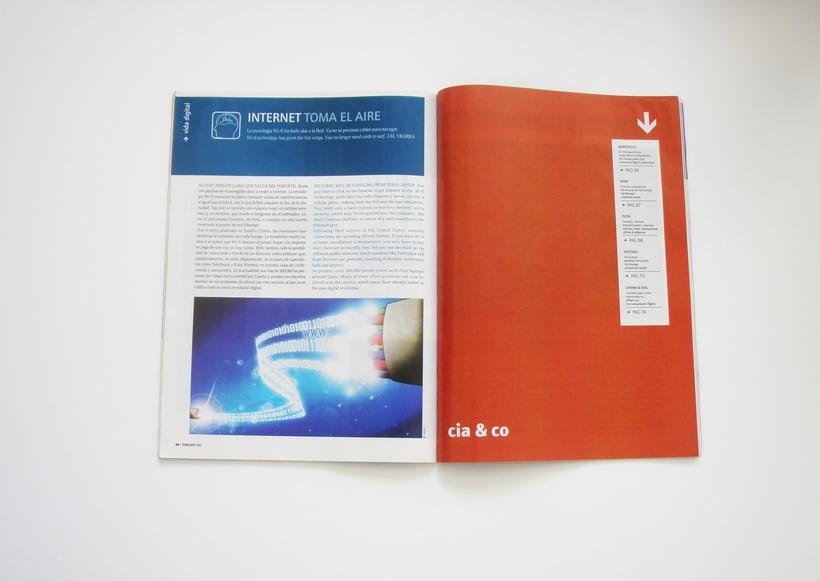 Ilustraciones y maquetación para revista EUROPA 0