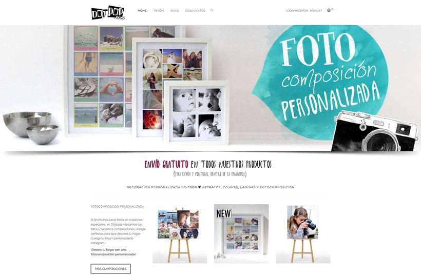 Diseño y creación Web Doitpop.com 1