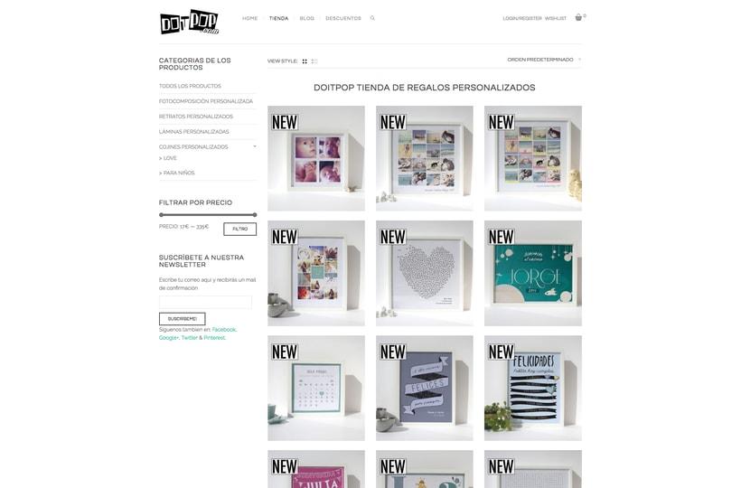 Diseño y creación Web Doitpop.com 3