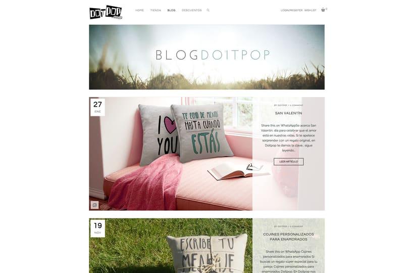 Diseño y creación Web Doitpop.com 4