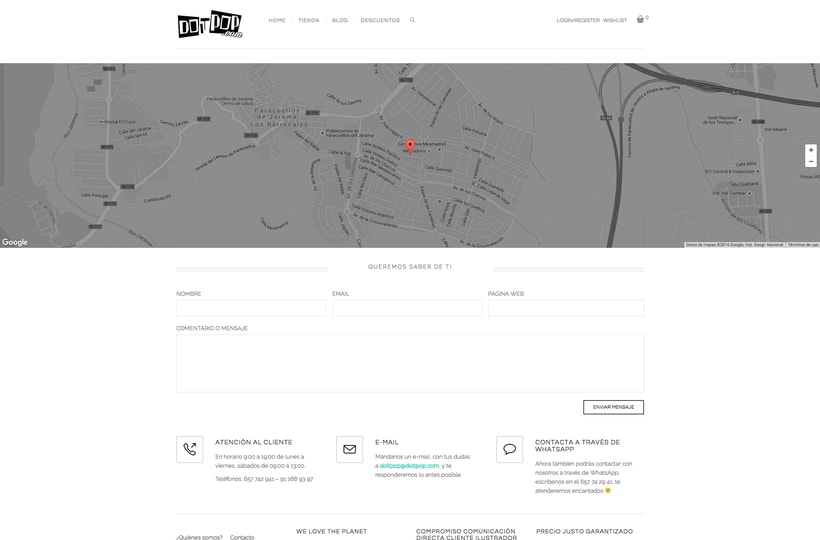 Diseño y creación Web Doitpop.com 5