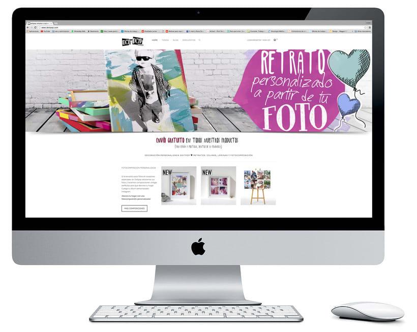 Diseño y creación Web Doitpop.com 0