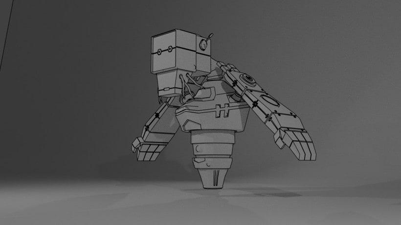 B-33.1 - El Robot mensajero. 6