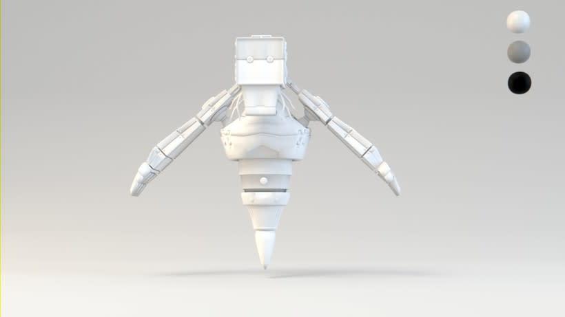 B-33.1 - El Robot mensajero. 4