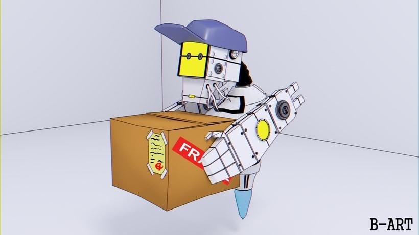 B-33.1 - El Robot mensajero. 0