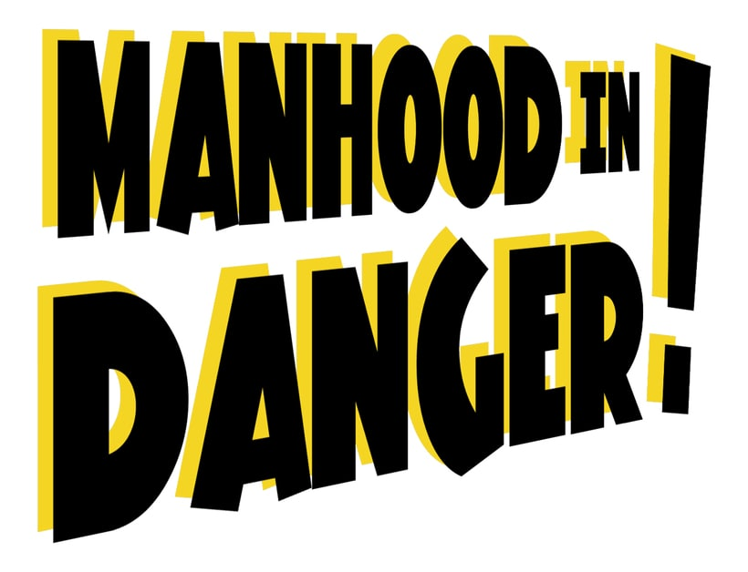 Ilustración collage Manhood in Danger! 1
