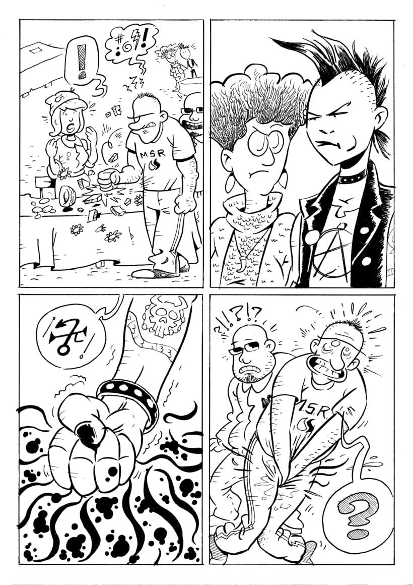 """Rastreras"" (cómic para revista Barrantes) 2"