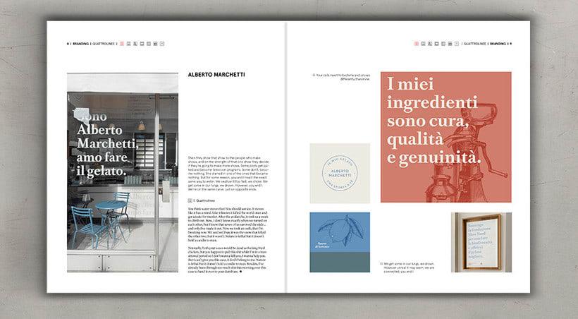 Diseño editorial cremoso 6
