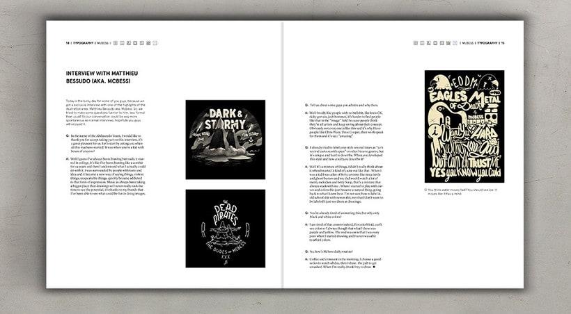 Diseño editorial cremoso 9